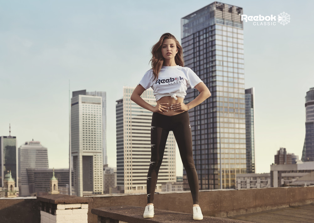 JULIA WIENIAWA FOR REEBOK BY MARCIN KEMPSKI